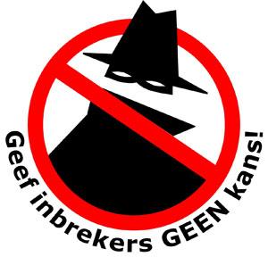 geef-inbrekers-geen-kans-sticker